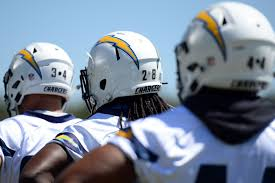 uniform schedule los angeles chargers will be white for first