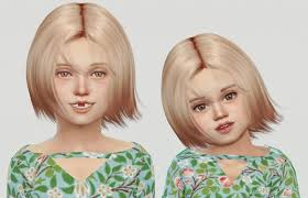 childs hairstyles sims 4 wings os1027 hair for kids toddlers for the sims 4 the sims 4