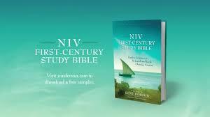 niv first century study bible youtube