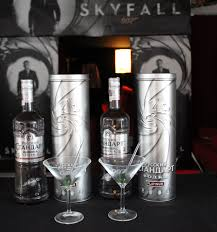 vodka martini james bond u0027s skyfall with a vodka martini