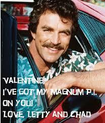 magnum pi year one year i made valentines magnum pi