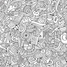 crazy patterns coloring pages
