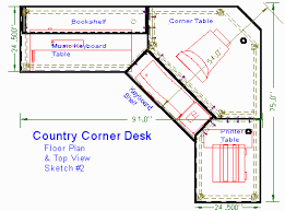 L Shaped Computer Desk Plans Beautiful Corner Desk Plans Gallery Liltigertoo