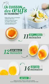 cuisiner oeuf réussir la cuisson des œufs c est facile vorwerk thermomix