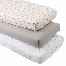 crib mattress topper organic bunny crib fitted sheets set of 3 the land of nod