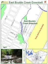 Austin Greenbelt Map by Bouldin Creek Neighborhood In South Central Austin Brief History