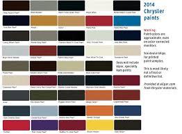 2014 dodge ram color chart car autos gallery