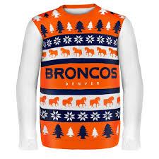 denver broncos nfl sweater wordmark