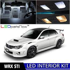 hatchback subaru inside amazon com ledpartsnow 2004 2017 subaru wrx sti led interior
