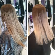 ombre hair growing out before and after colour and style photos oasis hair nantwich