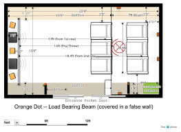 home theater floor plans home theater design calibration for a nc usa client acoustic