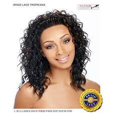 braids in front hair in back it s a wig futura synthetic braid lace front wig braid tropicana