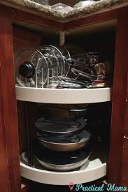 how to organize a lazy susan cabinet smart organization and storage ideas for kitchen cabinets