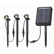solar deck accent lights kenroy home 3 led light string for solar deck dock and path light