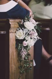 wedding flowers church best 25 pew ends ideas on wedding pew decorations