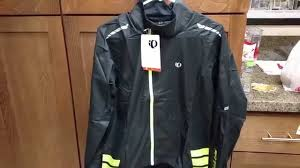 best cycling rain jacket 2016 pearl izumi elite barrier jacket for cycling youtube
