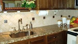 kitchen ceramic tile backsplash backsplash tile for kitchen ideas a retro in mustard and chocolate
