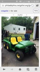 john deere 6 x 4 gator motorcycles for sale