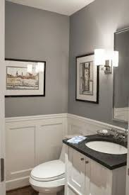 fresh u0026 modern powder room reveal tiny bathrooms modern classic