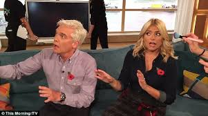 Challenge The Craze Willoughby And Phillip Schofield Horrified As This Morning