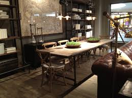 used restoration hardware dining table with inspiration gallery