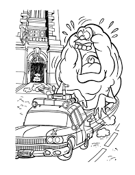 free printable ghostbusters coloring pages for kids