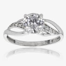 warren wedding rings 15 best ideas of white gold zirconia wedding rings