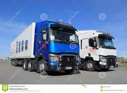 new volvo truck range renault t range truck for long haul editorial photo image 40066491