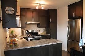 armoir de cuisine armoires tremblay cuisine de style contemporain