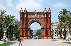 the arc de triomf barcelona barcelona home