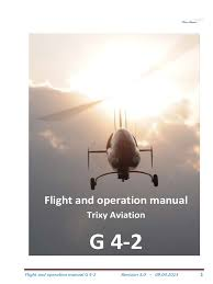 flight and operation manual for gyrocopter rev 3 0 landing gear