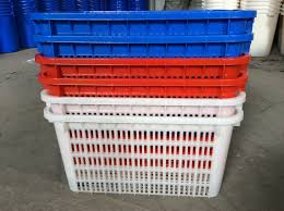 turnover large plastic plastic crates for fruits and vegetables