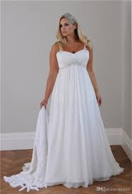 cheap plus size wedding dress 2018 plus size casual wedding dresses spaghetti straps