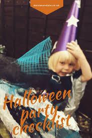 halloween party checklist daisies u0026 pie