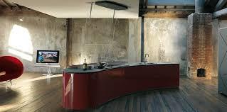 Dramatic Kitchen Interior Design By Alessi Rustic And Ultra - Ultra modern interior design