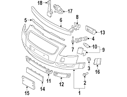 2001 audi tt front bumper cover parts com audi front bumper bumper and components bumper cover