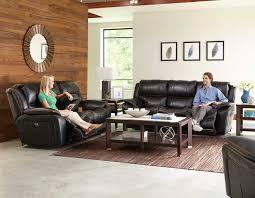 catnapper beckett reclining sofa set black cn 4511 sofa set