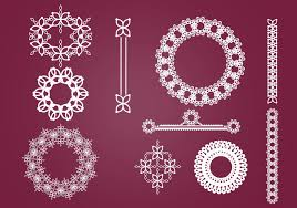 wreaths borders and ornaments brush pack free photoshop