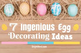 Easter Egg Decorating Ideas Space by Brightnest 7 Ingenious Egg Decorating Ideas