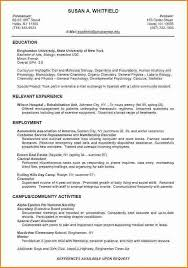 resume for college student with no experience jennywashere com