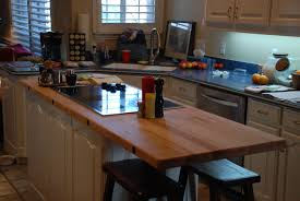 Kitchen Work Tables Islands Kitchen Island With Cooktop Two Nice Ones You Can Consider