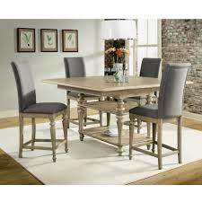 Counter High Dining Room Sets by Corinne Wood Counter Height Dining Table In Sun Drenched Acacia