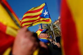 Estelada Flag Photos Of The Day Jan 17 Wsj