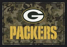 Camo Area Rug Milliken Area Rugs Nfl Camo Rugs 03034 Green Bay Packers