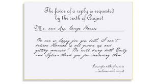wedding invitations rsvp cards formal response card etiquette mind your rsvps qs