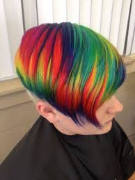 rainbow color hair ideas best short hair colors to try in 2017 hairstyles ideas