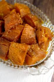 candied sweet potatoes the gracious