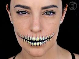 halloween makeup tutorial easy
