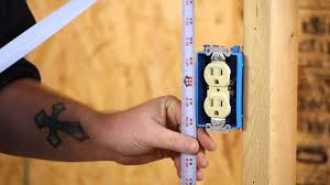the minimum height of a wall outlet diy electrical work youtube