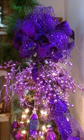 images about christmas trees toppers tables on pinterest purple